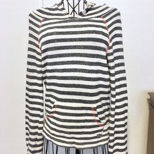 BILLABONG Striped Hoodie Size Small